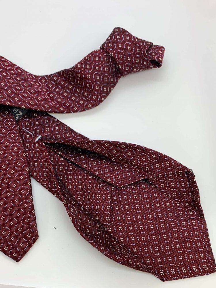 six fold tie